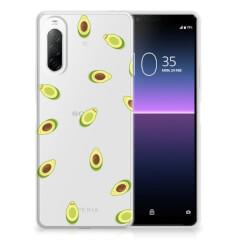 Sony Xperia 10 II Siliconen Case Avocado