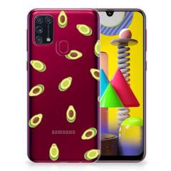 Samsung Galaxy M31 Siliconen Case Avocado