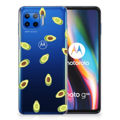 Motorola Moto G 5G Plus Siliconen Case Avocado