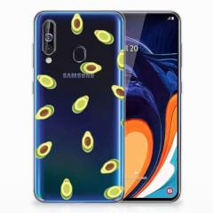 Samsung Galaxy A60 Siliconen Case Avocado