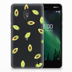 Nokia 2 Siliconen Case Avocado