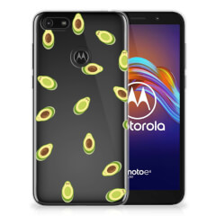 Motorola Moto E6 Play Siliconen Case Avocado