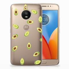Motorola Moto E4 Plus Siliconen Case Avocado