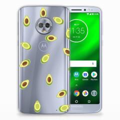 Motorola Moto G6 Plus Siliconen Case Avocado