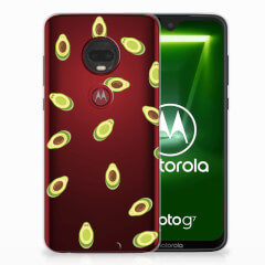 Motorola Moto G7   G7 Plus Siliconen Case Avocado