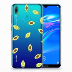 Huawei Y7 2019 Siliconen Case Avocado