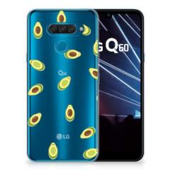 LG Q60 Siliconen Case Avocado