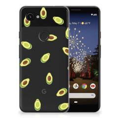 Google Pixel 3A Siliconen Case Avocado