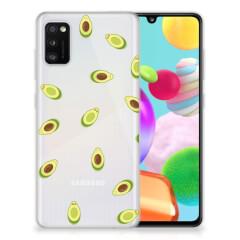Samsung Galaxy A41 Siliconen Case Avocado