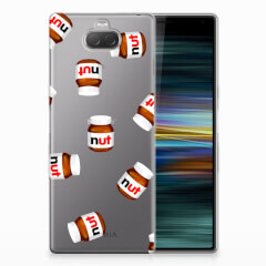 Sony Xperia 10 Plus Siliconen Case Nut Jar