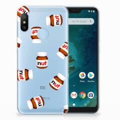 Xiaomi Mi A2 Lite Siliconen Case Nut Jar