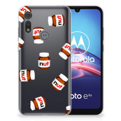Motorola Moto E6s Siliconen Case Nut Jar