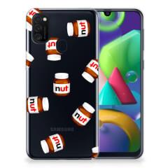 Samsung Galaxy M21 Siliconen Case Nut Jar