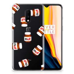 OnePlus 7 Siliconen Case Nut Jar