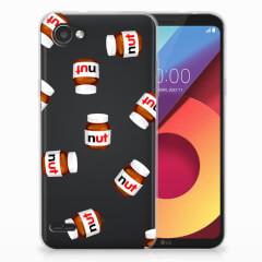 LG Q6   LG Q6 Plus Siliconen Case Nut Jar