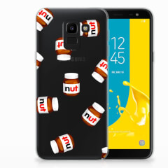Samsung Galaxy J6 2018 Siliconen Case Nut Jar