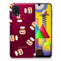 Samsung Galaxy M31 Siliconen Case Nut Jar