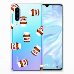 Huawei P30 Siliconen Case Nut Jar