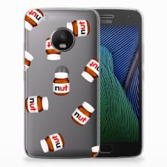 Motorola Moto G5 Plus Siliconen Case Nut Jar
