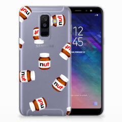 Samsung Galaxy A6 Plus (2018) Siliconen Case Nut Jar