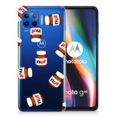 Motorola Moto G 5G Plus Siliconen Case Nut Jar