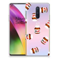 OnePlus 8 Siliconen Case Nut Jar