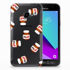 Samsung Galaxy Xcover 4   Xcover 4s Siliconen Case Nut Jar