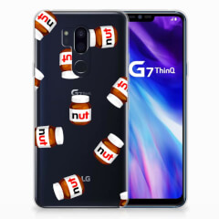 LG G7 Thinq Siliconen Case Nut Jar