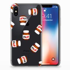Apple iPhone X | Xs Siliconen Case Nut Jar