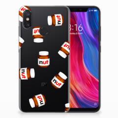 Xiaomi Mi 8 Siliconen Case Nut Jar