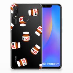 Huawei P Smart Plus Siliconen Case Nut Jar