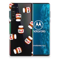 Motorola Edge Siliconen Case Nut Jar