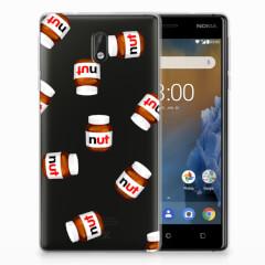 Nokia 3 Siliconen Case Nut Jar