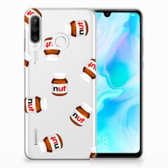 Huawei P30 Lite Siliconen Case Nut Jar