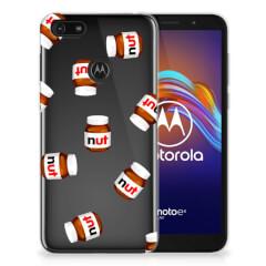 Motorola Moto E6 Play Siliconen Case Nut Jar