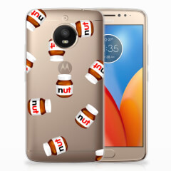 Motorola Moto E4 Plus Siliconen Case Nut Jar