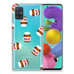 Samsung Galaxy A51 Siliconen Case Nut Jar