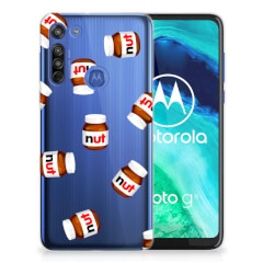 Motorola Moto G8 Siliconen Case Nut Jar