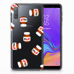 Samsung Galaxy A7 (2018) Siliconen Case Nut Jar