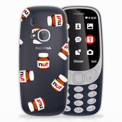 Nokia 3310 (2017) Siliconen Case Nut Jar