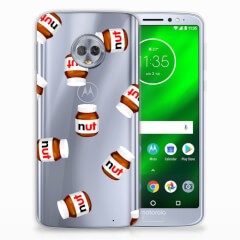 Motorola Moto G6 Plus Siliconen Case Nut Jar