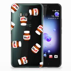 HTC U11 Siliconen Case Nut Jar