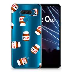 LG Q60 Siliconen Case Nut Jar