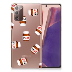 Samsung Note 20 Siliconen Case Nut Jar