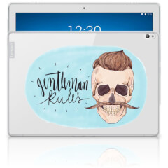 Tablet BackCover Lenovo Tab P10 Gentleman Skull