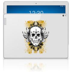 Tablet BackCover Lenovo Tab P10 Skull Goud