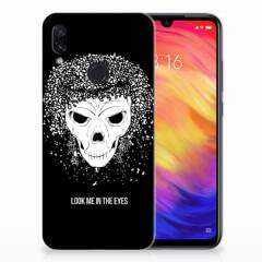 Silicone Back Case Xiaomi Redmi Note 7 Pro Skull Hair