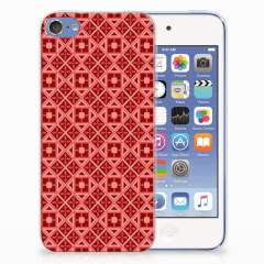 Apple iPod Touch 5 | 6 TPU bumper Batik Rood