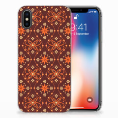 Apple iPhone X | Xs TPU bumper Batik Brown