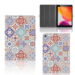 iPad 10.2 (2019) | iPad 10.2 (2020) Leuk Tablet hoesje  Tiles Color